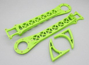Hobbyking SK450 Replacement Arm Set - Bright Green (2pcs/bag)