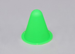 Plastic Racing Cones for R/C Car Track or Drift Course - Green (10pcs/bag)