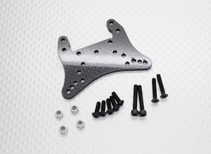 Carbon Fibre Front Shock Tower - 1/10 Quanum Vandal 4WD Racing Buggy
