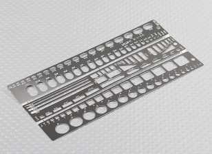 Scale Detailing Scribing Template