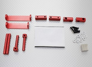 1/8 Car Magnetic Body Mounting Set (Red)