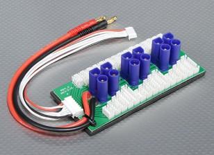 Hobbyking Parallel Charge Board For 6 Packs 2~6S (EC5)