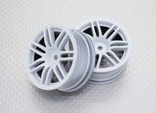 1:10 Scale High Quality Touring / Drift Wheels RC Car 12mm Hex   (2pc) CR-RS4W