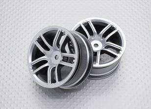 1:10 Scale High Quality Touring / Drift Wheels RC Car 12mm Hex (2pc) CR-GTS