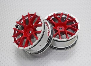 1:10 Scale High Quality Touring / Drift Wheels RC Car 12mm Hex (2pc) CR-CHR
