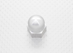 Hex Spinner Prop Nut Alloy M10x1.25
