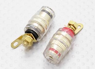Female 4mm Electrical Binding Posts 12-24v DC 50Amp