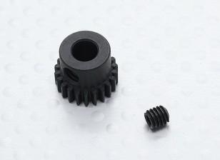 22T/5mm 48 Pitch Hardened Steel Pinion Gear