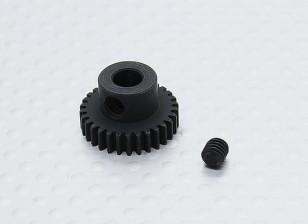 30T/5mm 48 Pitch Hardened Steel Pinion Gear