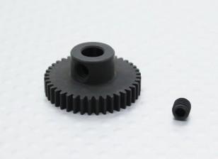 40T/5mm 48 Pitch Hardened Steel Pinion Gear
