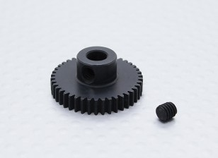 42T/5mm 48 Pitch Hardened Steel Pinion Gear