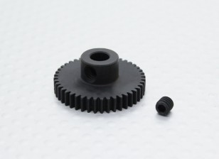 44T/5mm 48 Pitch Hardened Steel Pinion Gear