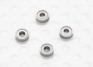 Blade Grip Bearing - Walkera Super CP Micro 3D Helicopter (4pcs)