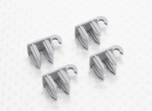 Durafly™ Supermarine Spitfire Mk 24 - Replacement Flap Clip (4pcs)