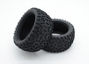 Toxic Nitro - Rear Tires
