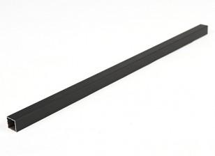 Aluminum Square Tube DIY Multi-Rotor 15x15x400mm (black)