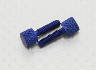 M4 Anodised Alloy Hatch Cover Thumb Screws (2pcs/bag)
