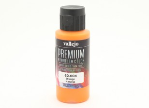 Vallejo Premium Color Acrylic Paint - Orange (60ml) 62.004
