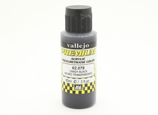 Vallejo Premium Color Acrylic Paint - Candy Black (60ml) 62.079