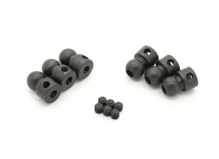 6.8 Swaybar Ball Stud (6pcs) - BSR 1/8 Rally T08892