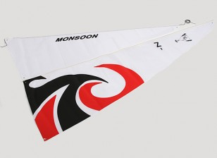 RC 1.8mtr Monsoon Sailboat - Sail Set (2pcs)