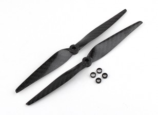 Multistar Carbon Fiber Propeller 8x4.5 Black (CW/CCW) (2pcs)