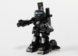 2ch Mini R/C Battle Robot with Charger (Black)