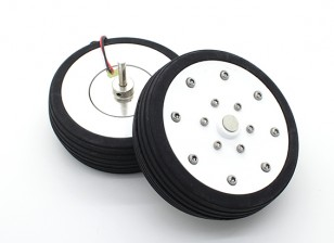 "Dr. MadThrust 3.25"" / 81.5mm  Main Wheels with Electro Magnetic Braking System (2pc)"