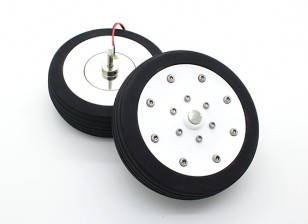 "Dr. MadThrust 3.5"" / 88.5mm  Main Wheels with Electro Magnetic Braking System (2pc)"