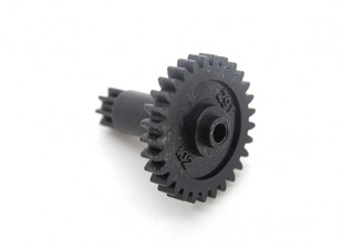 Spur Gear 29T - Turnigy TZ4 AWD / Mini-Q Extended Chassis Spur