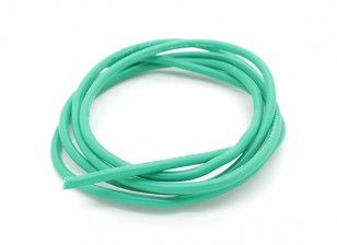 Turnigy Pure-Silicone Wire 14AWG 1m (Green)