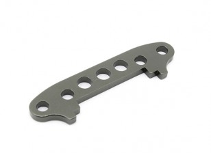 Alu. Front susp. Arm's stop plate - Basher SaberTooth 1/8 Scale (1pc)
