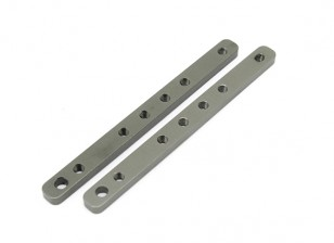 Alu. Fixed plate for fan - Basher SaberTooth 1/8 Scale (2pcs)