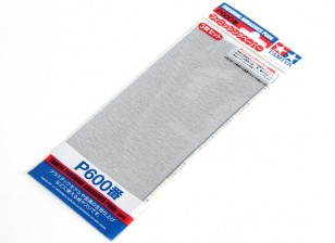 Tamiya Finishing Wet/Dry Sandpaper P600 Grade (3pc)