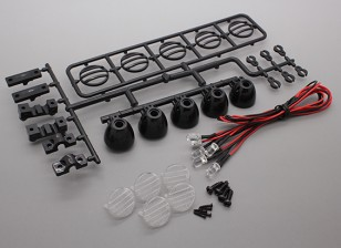 Hobbyking LED Light Bar Set (Black)