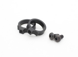 Element EX313 LR Tactical Flashlight Mount rings 0.76 inch (Black, 2pcs/pack)