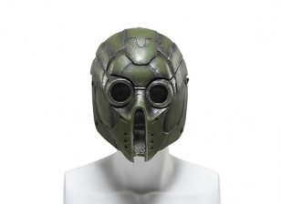 FMA Wire Mesh Full Face Mask (Green Monster)