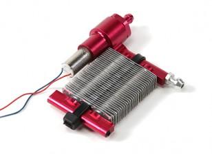 Liquid Cooling System w/Self Circulating Pump and Radiator