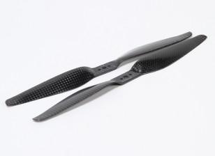 Multirotor Carbon Fiber T-Style Propeller 9x5.5 Black (CW/CCW) (2pcs)