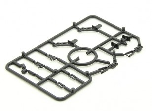 Mini Accessory Pack with  2 x Horns, 2 x Hinges, 2 x Wheel Collets and 2 x Clevis Joints