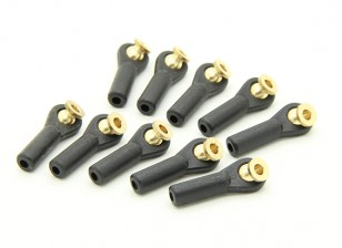 Heavy Duty Ball Link 27mm M3 Black (10pcs)