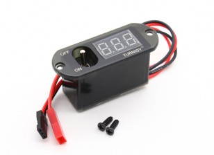 Turnigy 3 Function Switch w/UBEC, Voltage Display