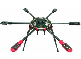 Tarot 680PRO HexaCopter Folding Frame 3K Carbon (KIT)