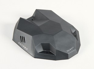 Tarot 680PRO HexaCopter Canopy Carbon Effect with Fitting Kit (1pc)