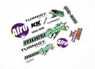 HobbyKing Sticker Sheet - Multirotor