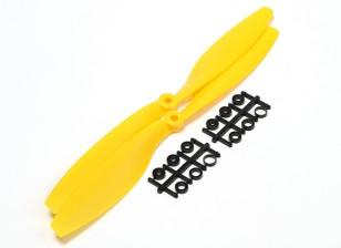 Turnigy Slowfly Propeller 10x4.5 Yellow (CW) (2pcs)