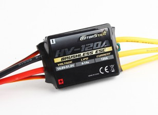 RotorStar 120A HV (4~14S) Brushless Speed Controller (OPTO)