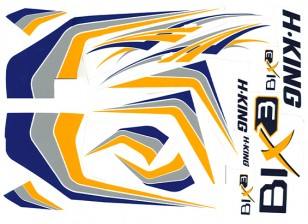 HobbyKing® Bix3 Trainer 1550mm - Replacement Decal Set