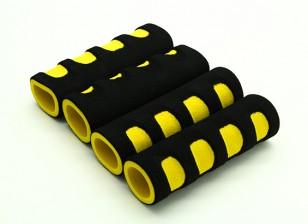 EVA Foam Gimbal Handle Yellow/Black (107x34x22mm) (4pcs)