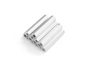 Lightweight Aluminum Hex Section Spacer M3 x 26mm (10pcs/set)